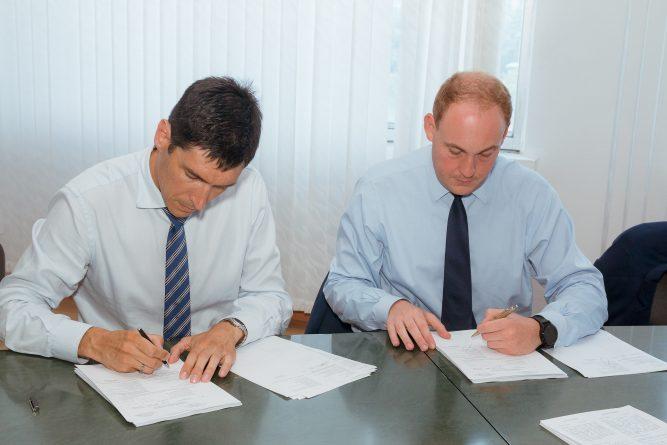 Подписание контракта с Danobat
